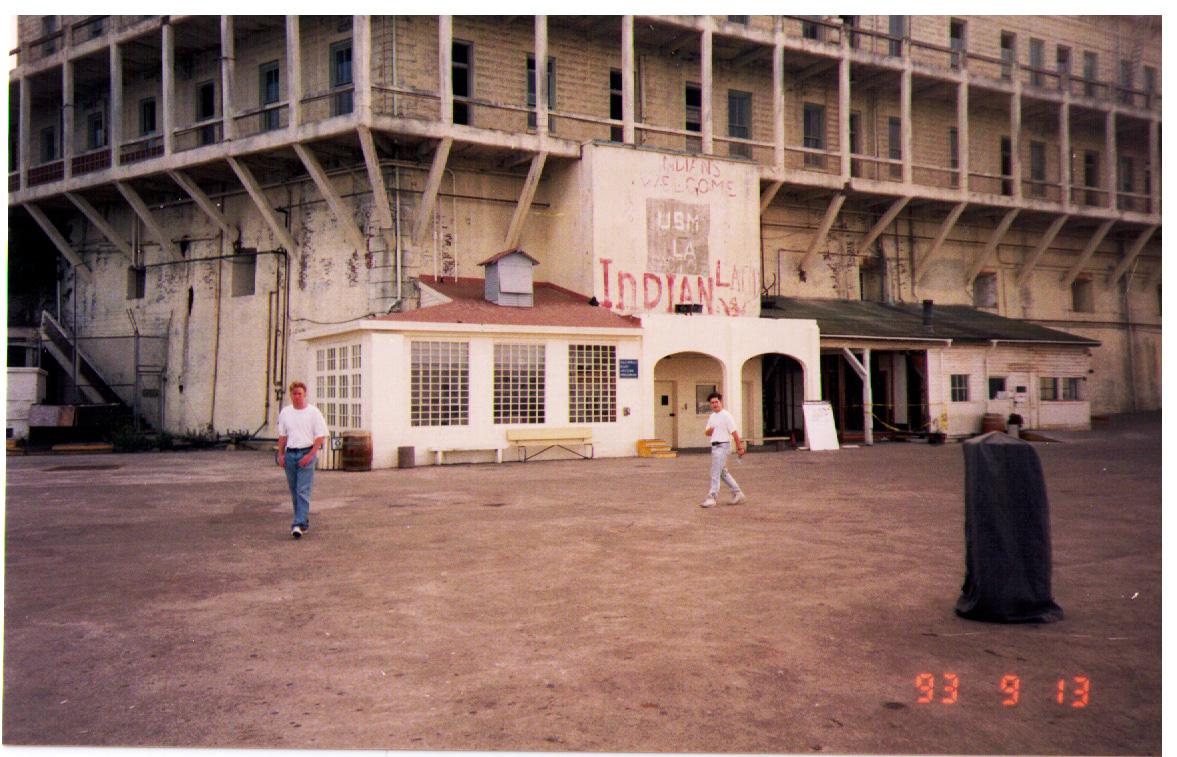 Jim & Ian at Alcatraz