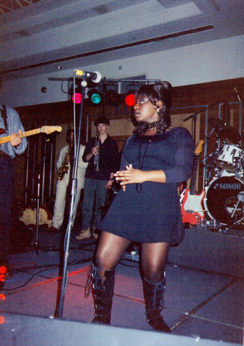 1994 Rhythm Oil Gig with Yuniea Semambo