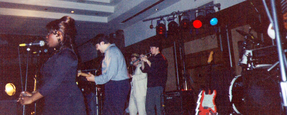1994 Rhythm Oil Gig with Yuniea Semambo