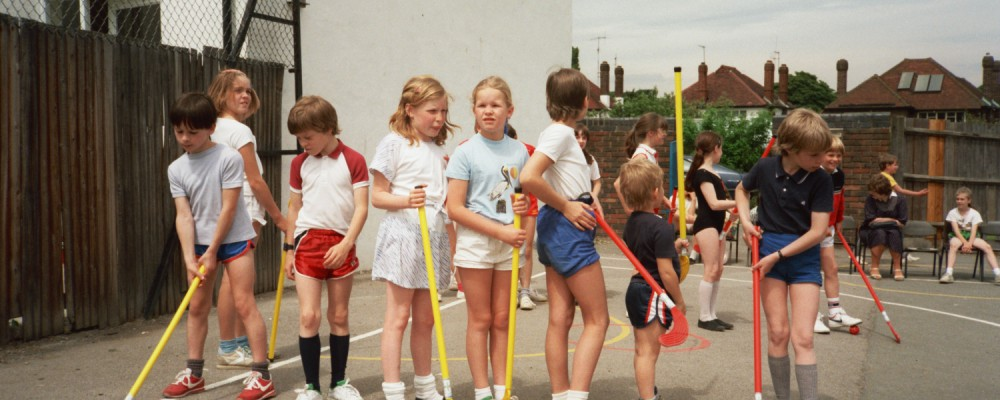 Wells Primary School Sports Day 1985