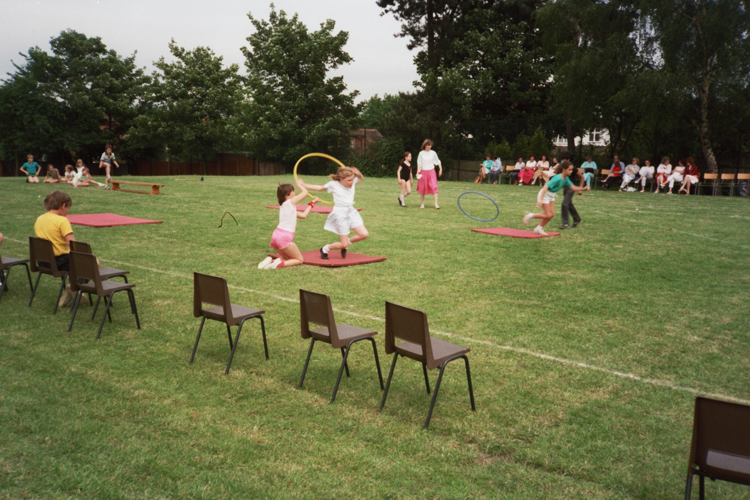 Sports Day at Wells Primary School