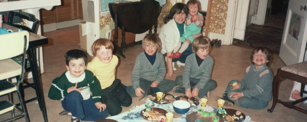 Ed Shearer and Friends in 1983 in Woodford