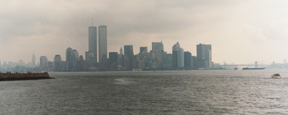 New York Skyline in 1990