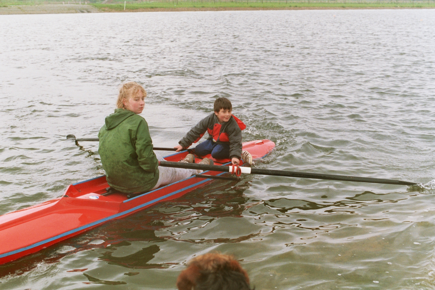 Ed @ Rowing with Spring Hill Rowing Club - later Lea Rowing Club
