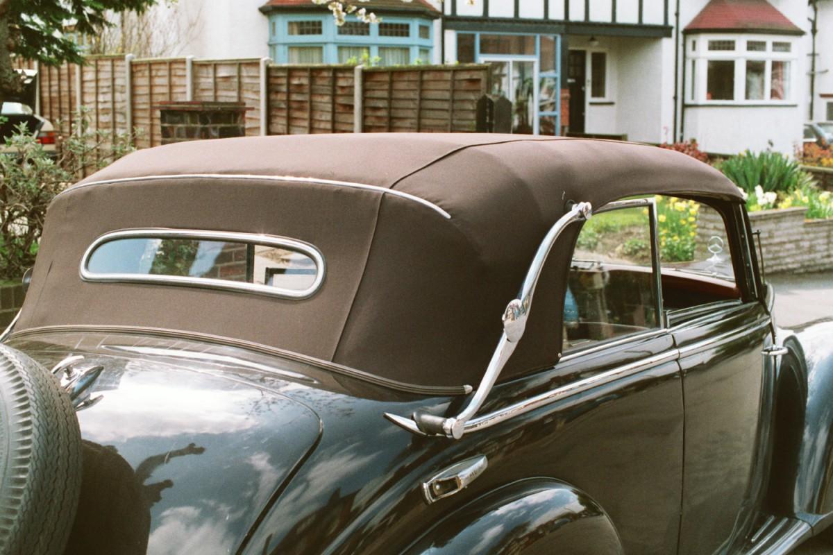 Mercedes 1952 Cabriolet B, at Woodside
