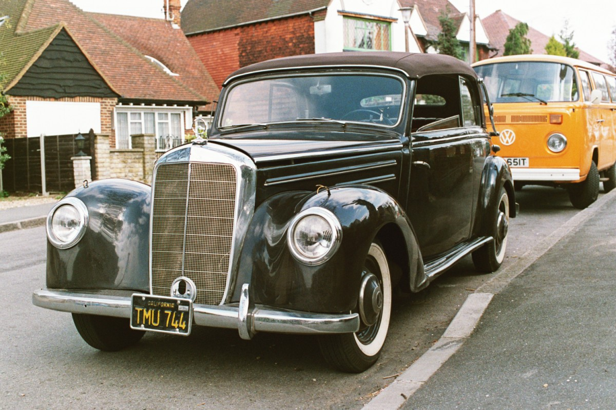 Mercedes 1952 Cabriolet B, at Woodside