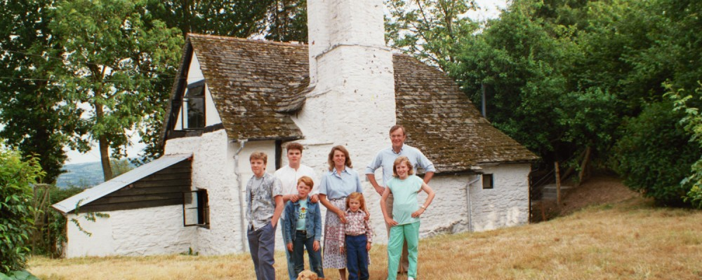 The Shearer Family at Amberslone, 1980s