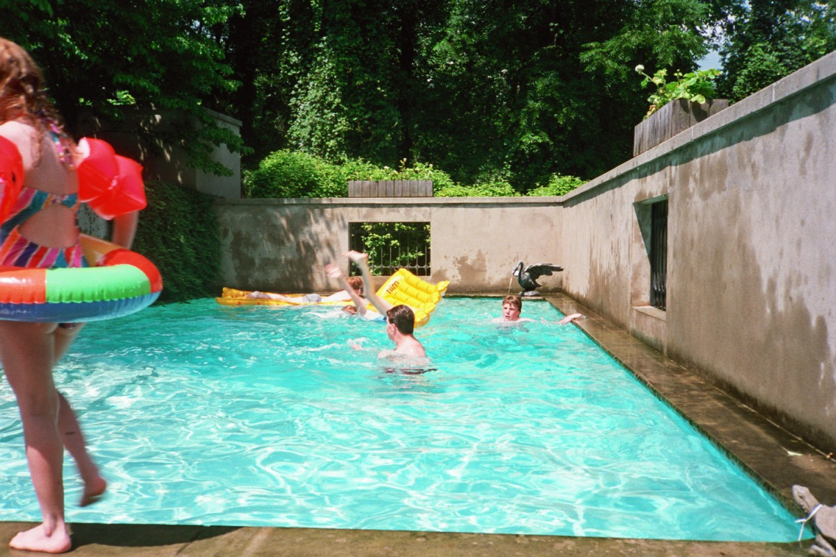 The Judson's swimming pool