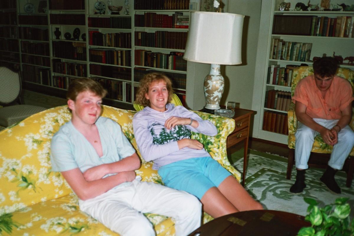 Julie Rusling and I
