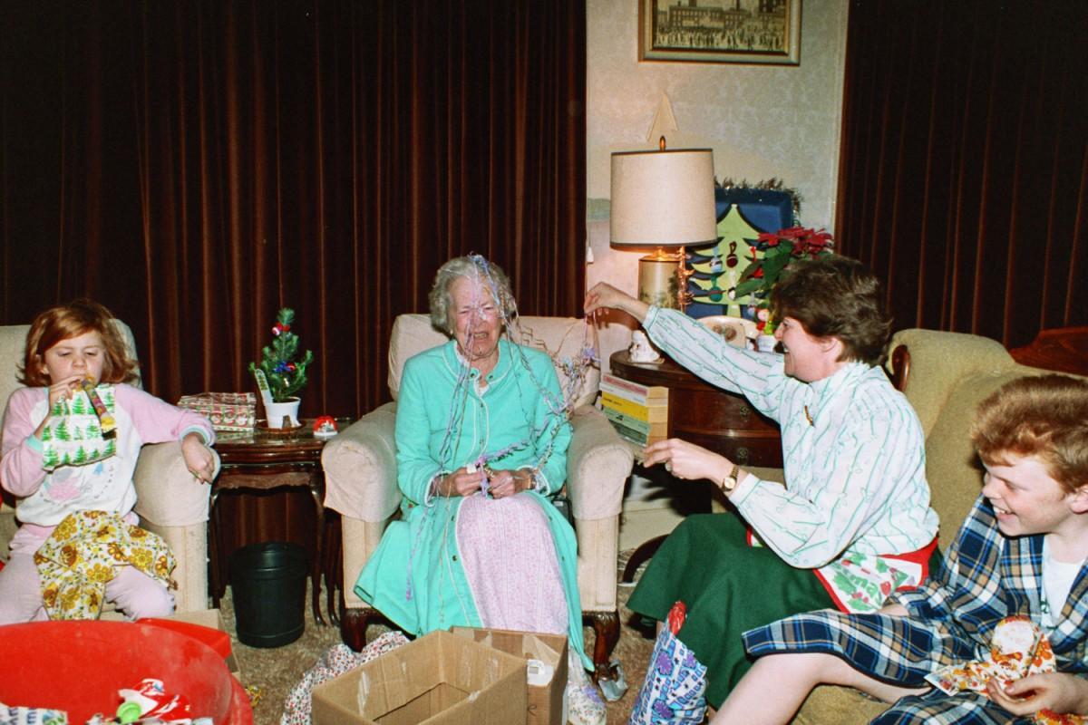 Tee Tee Rusling - Grandma - visits London 1988, Woodford