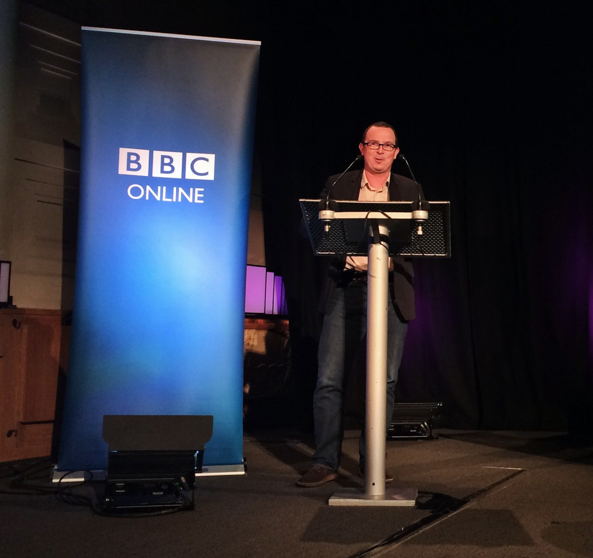 Adrian Woolard of BBC R&D talks about Connected Studio