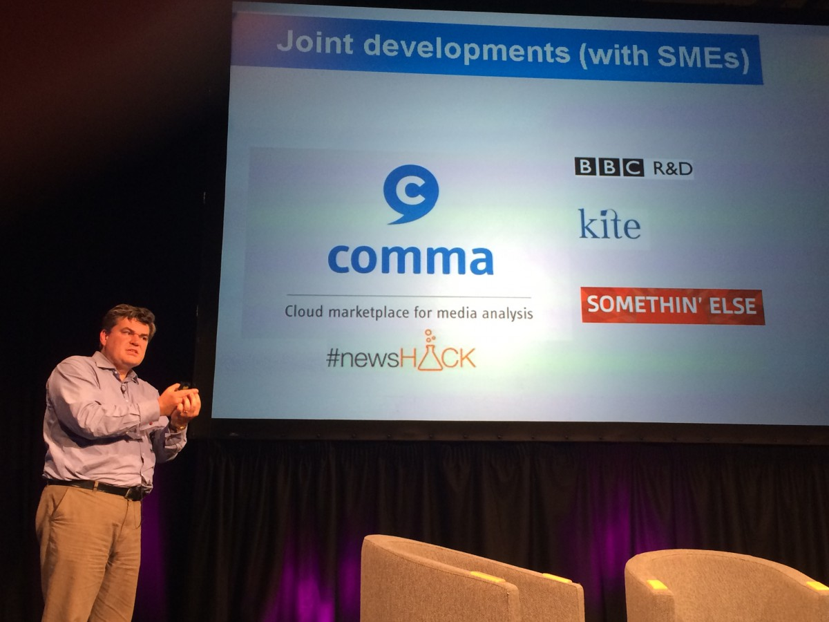 Jon Page shows Tech Transfer Projects in BBC R&D, June 2014