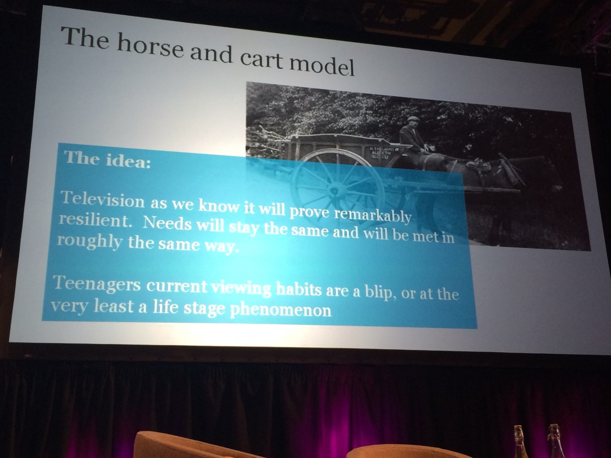 BBC Audiences - the Horse & Cart Model - BAU - things continue as they are - not likely
