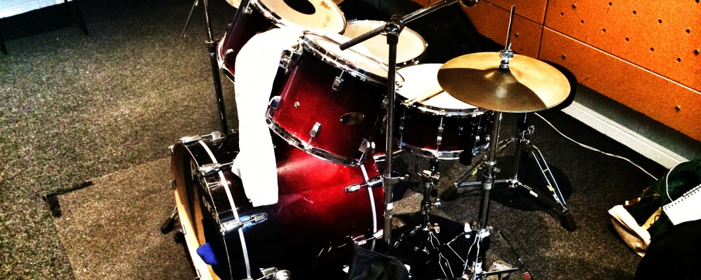 Ludwig Drumkit at The Joint Rehearsal Studios, Kings Cross, London