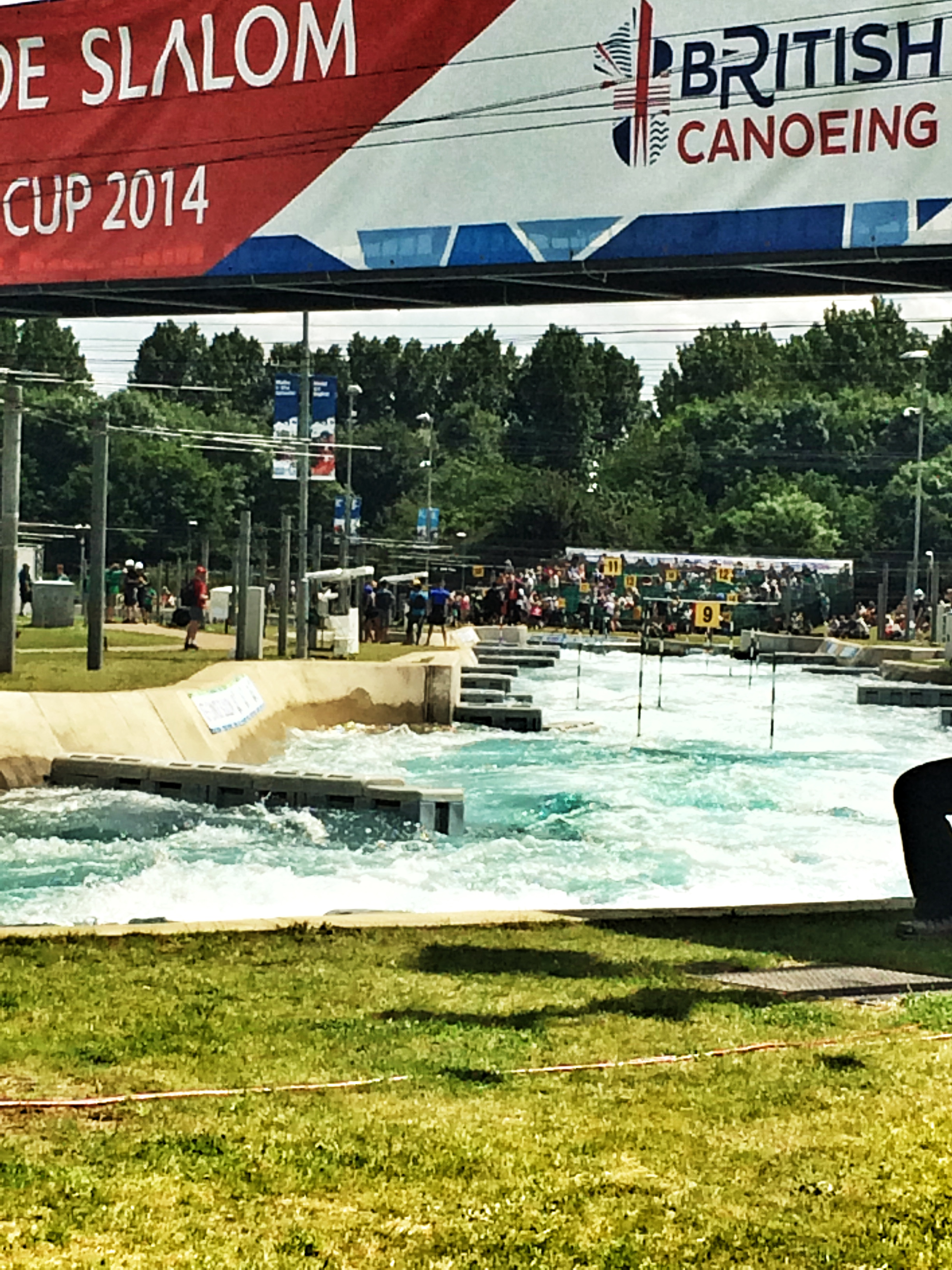 Canoe Slalom World Cup, Lea Valley