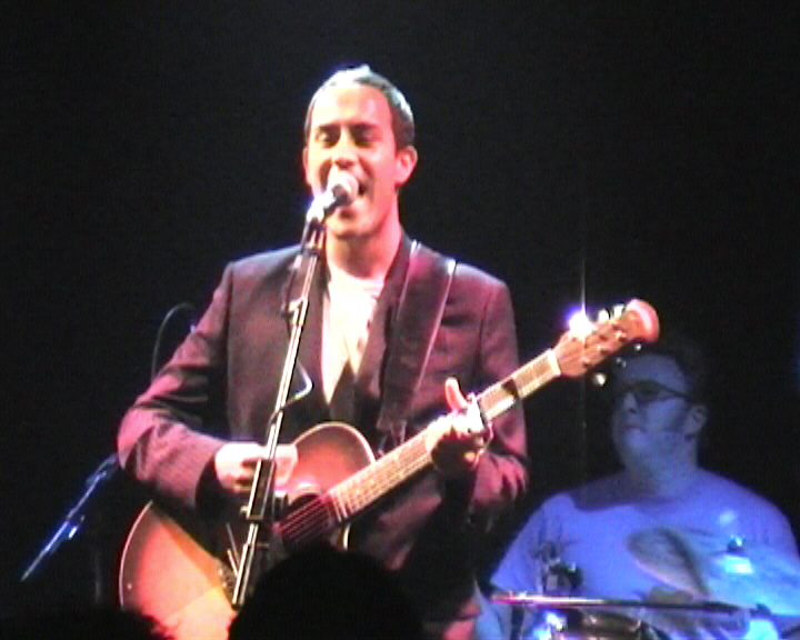 Dean Gardner, and Matt Shearer on Drums - The Dees -  The Garage - November 2003