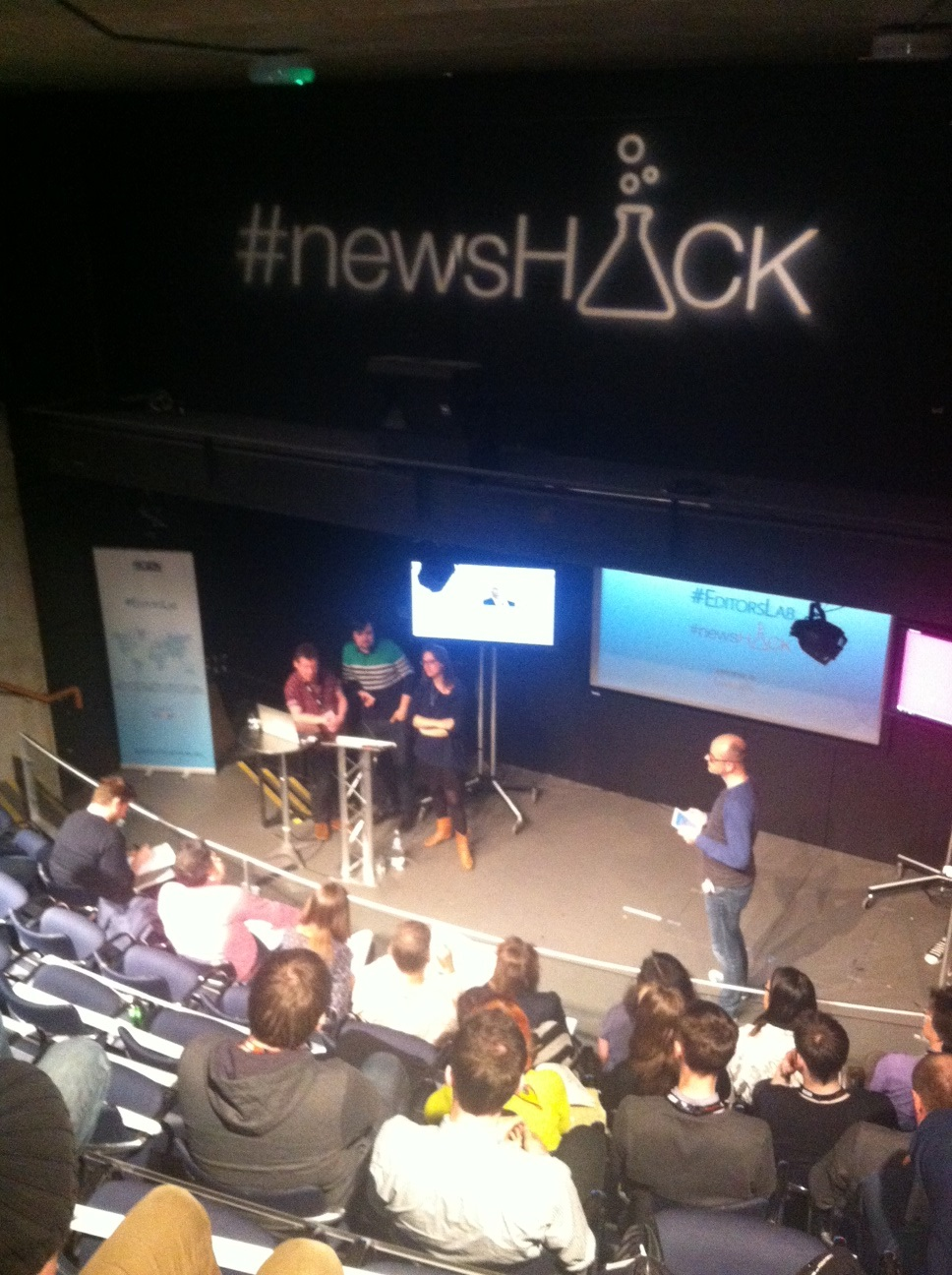 Robin Cramp runs the show in Glasgow #newsHACK