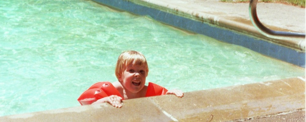 Matt Shearer in the Pool at Huntinton Hills, Rochester, NY, USA