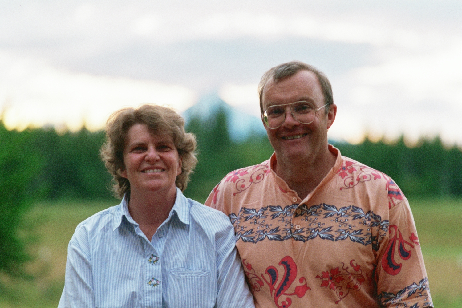 Lori Shearer and Fred Shearer in Oregon