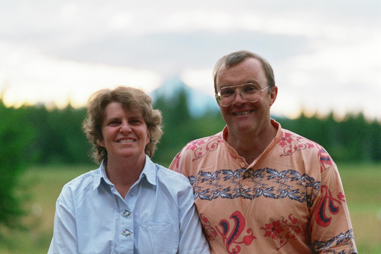 Lori Shearer and Fred Shearer in Oregon
