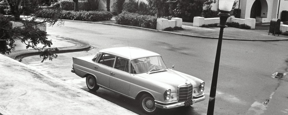 Our Mercedes in San Francisco in the 1970s