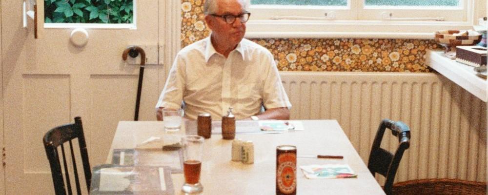 Grampa - Lee Rusling - visits us in London