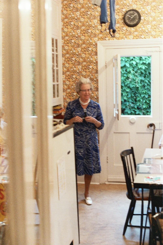Tee Tee - aka Elizabeth Rusling - visiting us in London