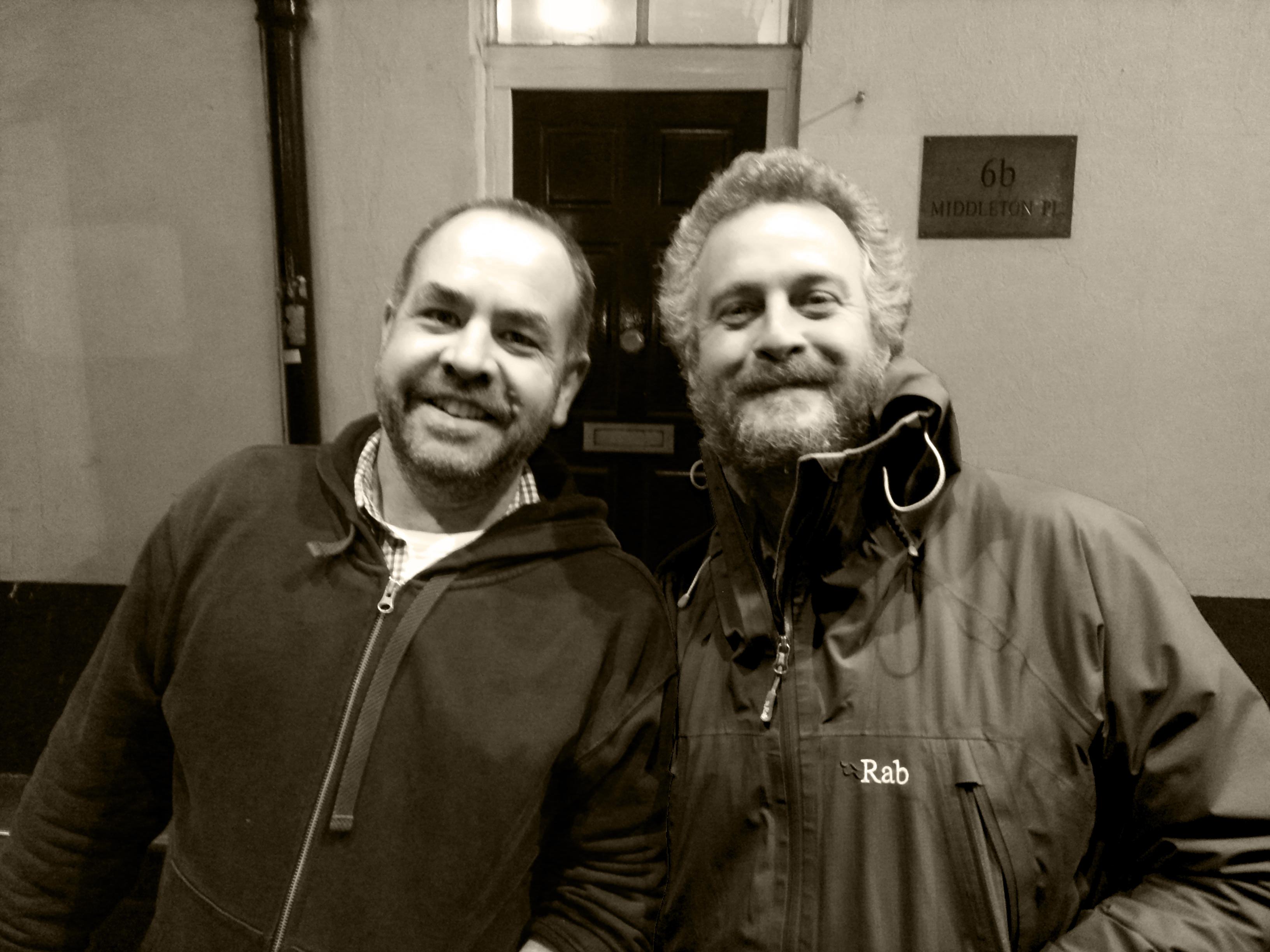 Richard Lynton-Evans and James Richardson