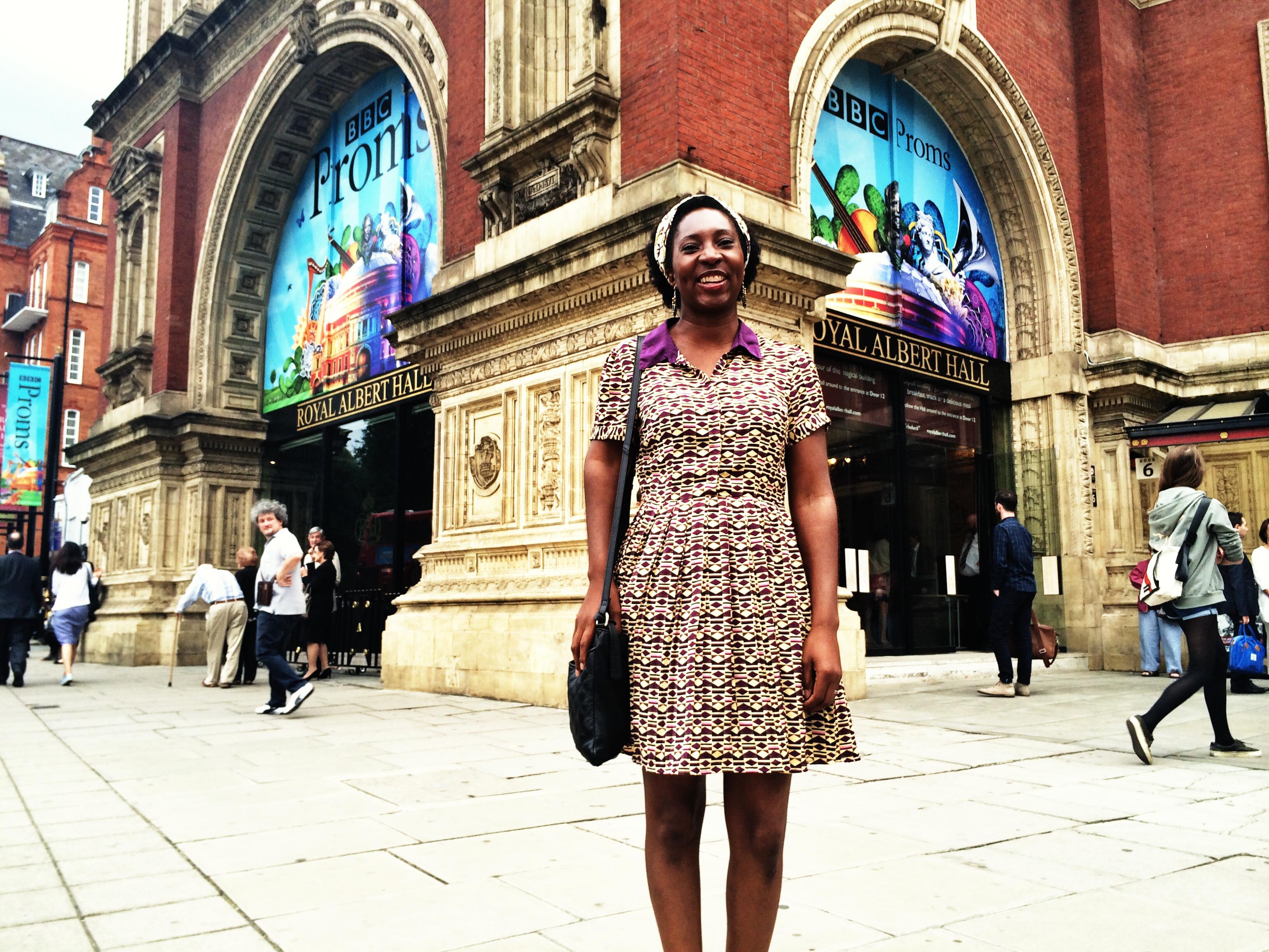 Wendy at The Royal Albert Hall