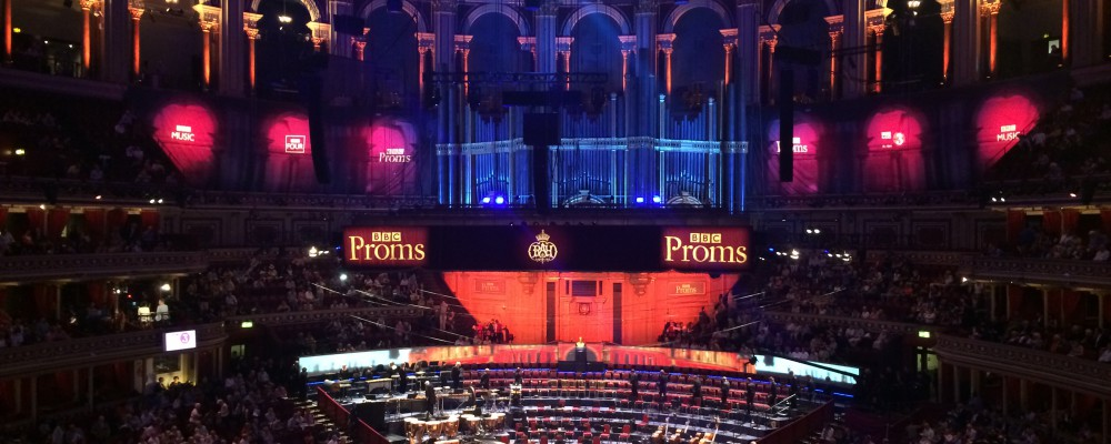 Matt & Wendy at the PROMS, 2014 - Mozart & Ravel