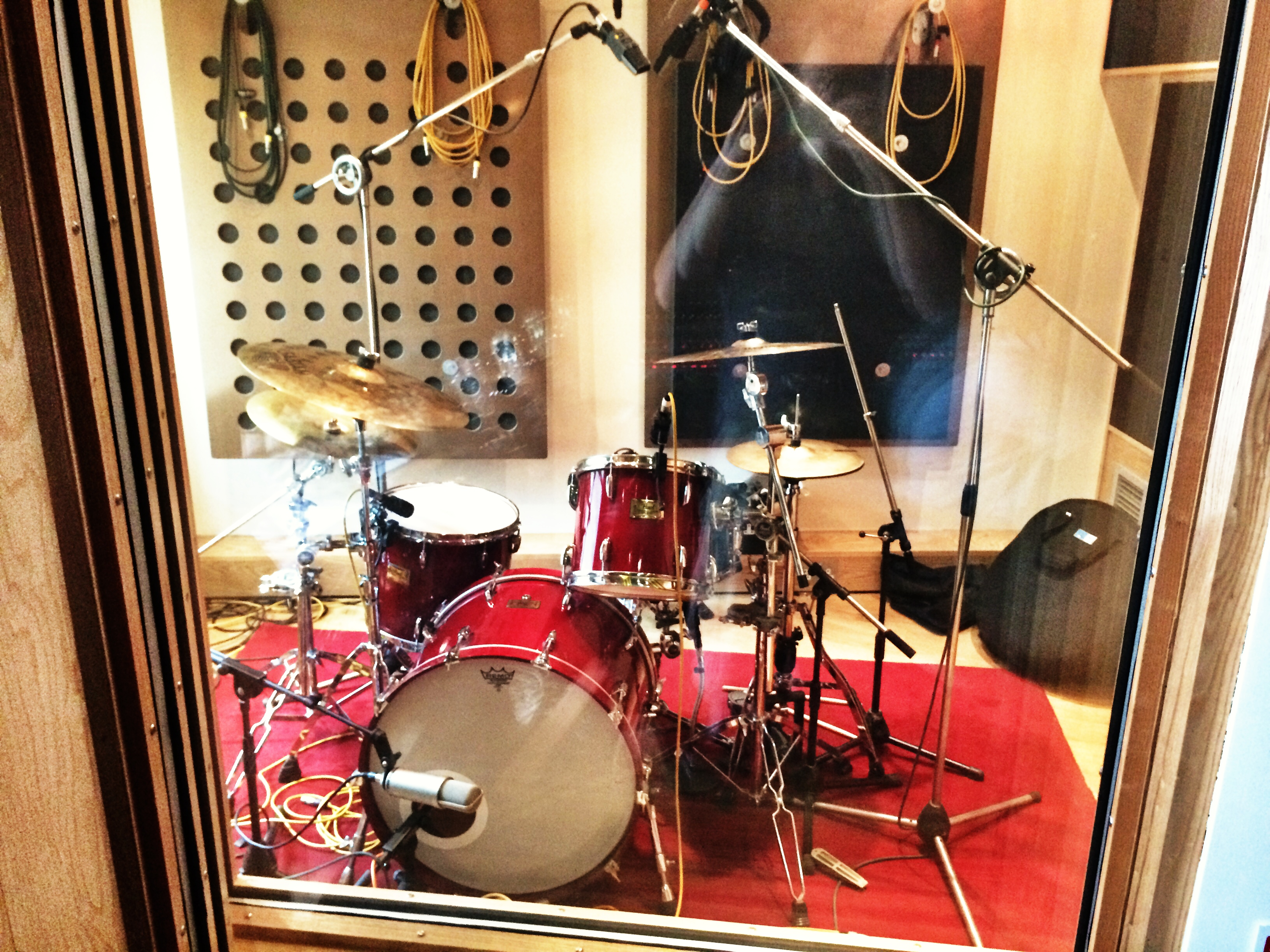 Drums at Ten21 Studios