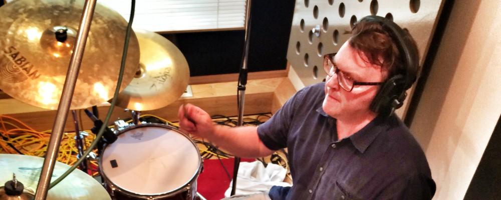 Matt Shearer drums at Ten21 Studios, Kent