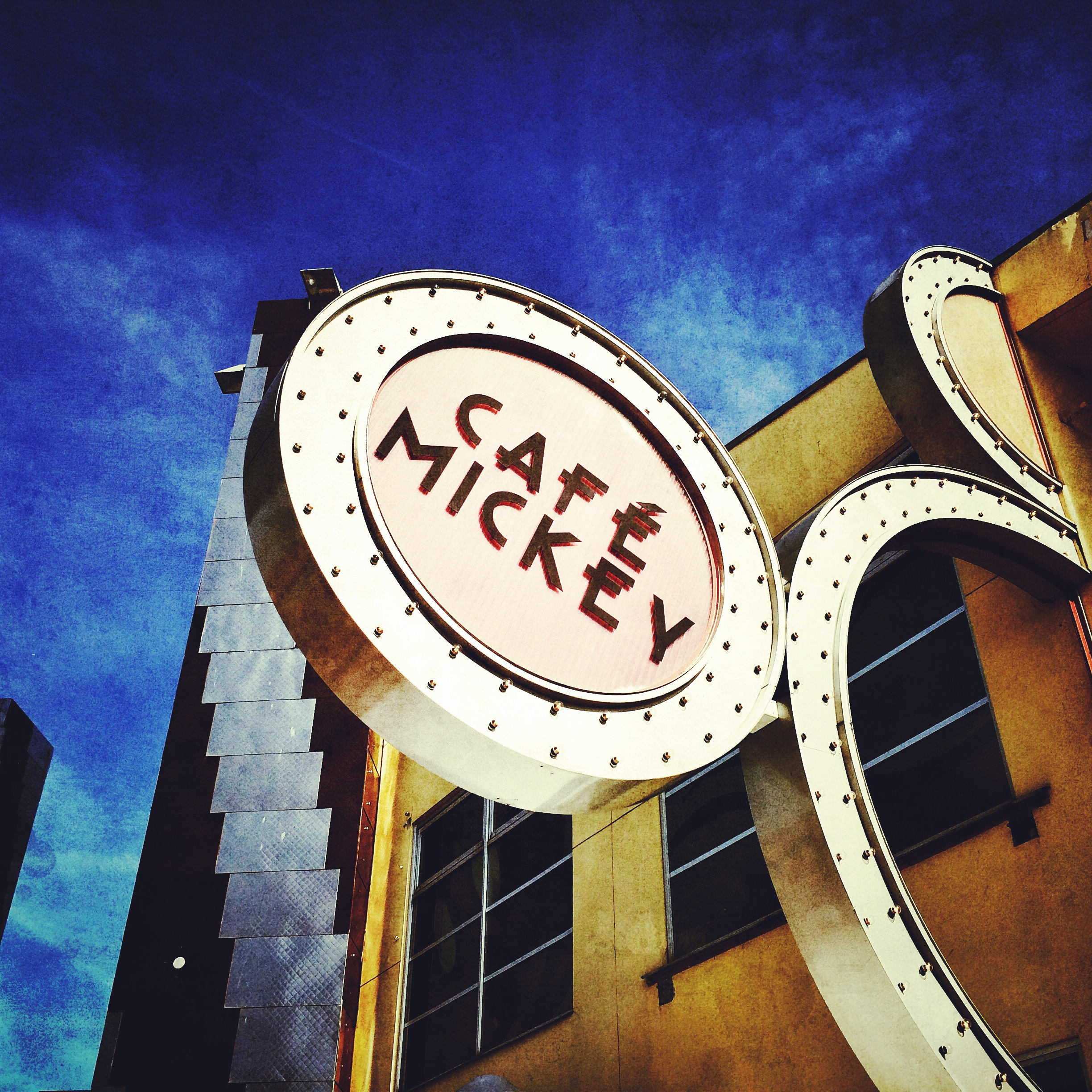 Cafe Mickey - where you meet all the furry stars