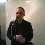 Dan McCabe, The Dees, Rehearsal at The Premises, London, 2006