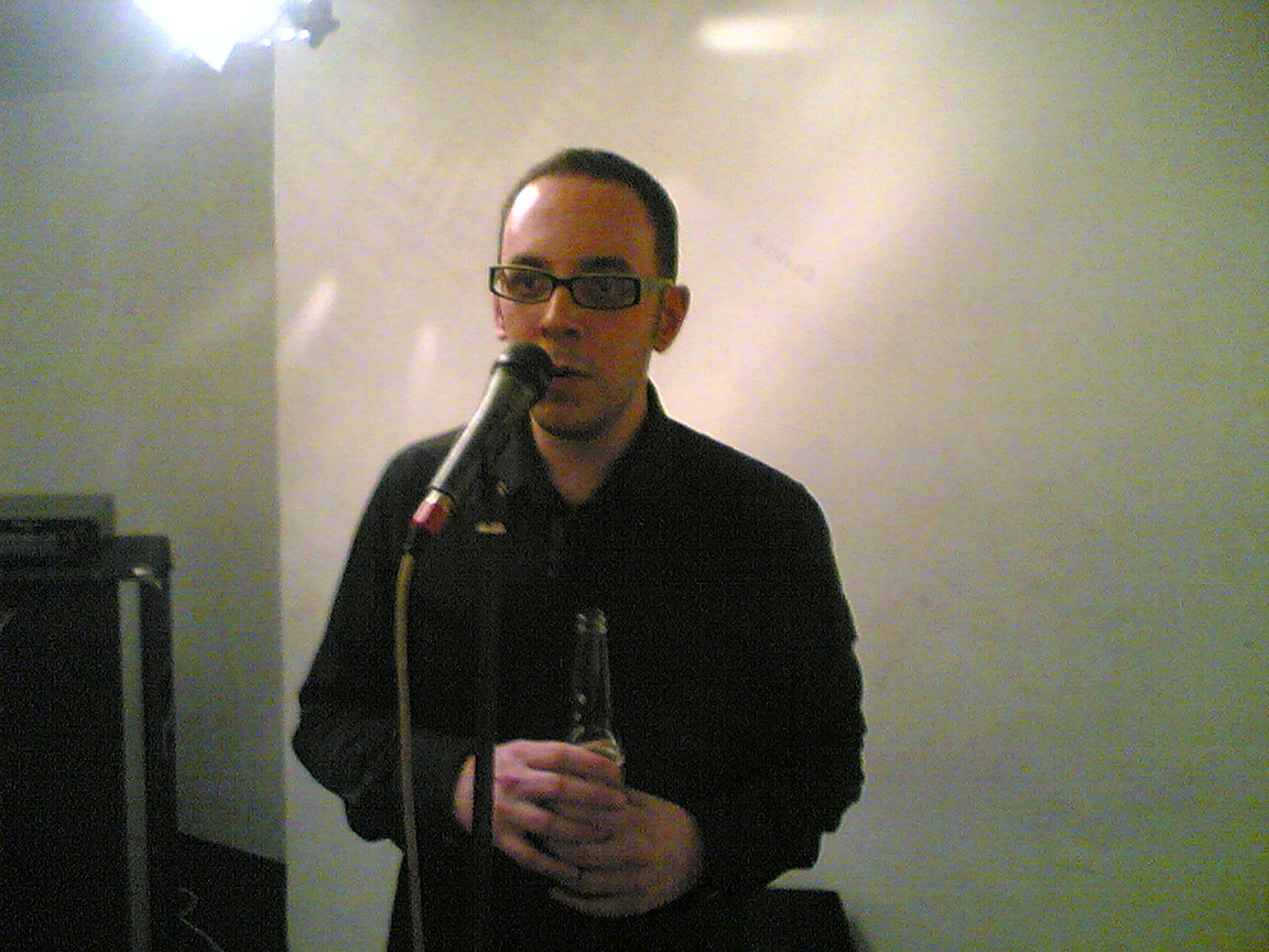 Dan McCabe, The Dees, Rehearsal at The Premises, London, 2006