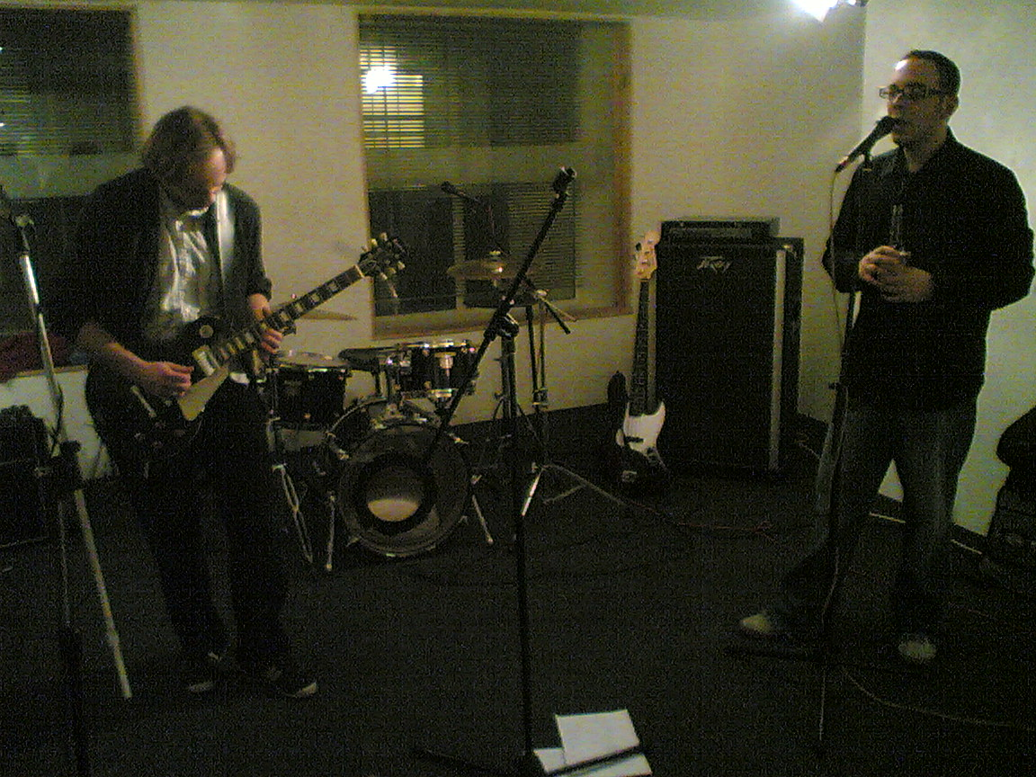 Tarkan Algin and Dan McCabe, The Dees, Rehearse at The Premises, London