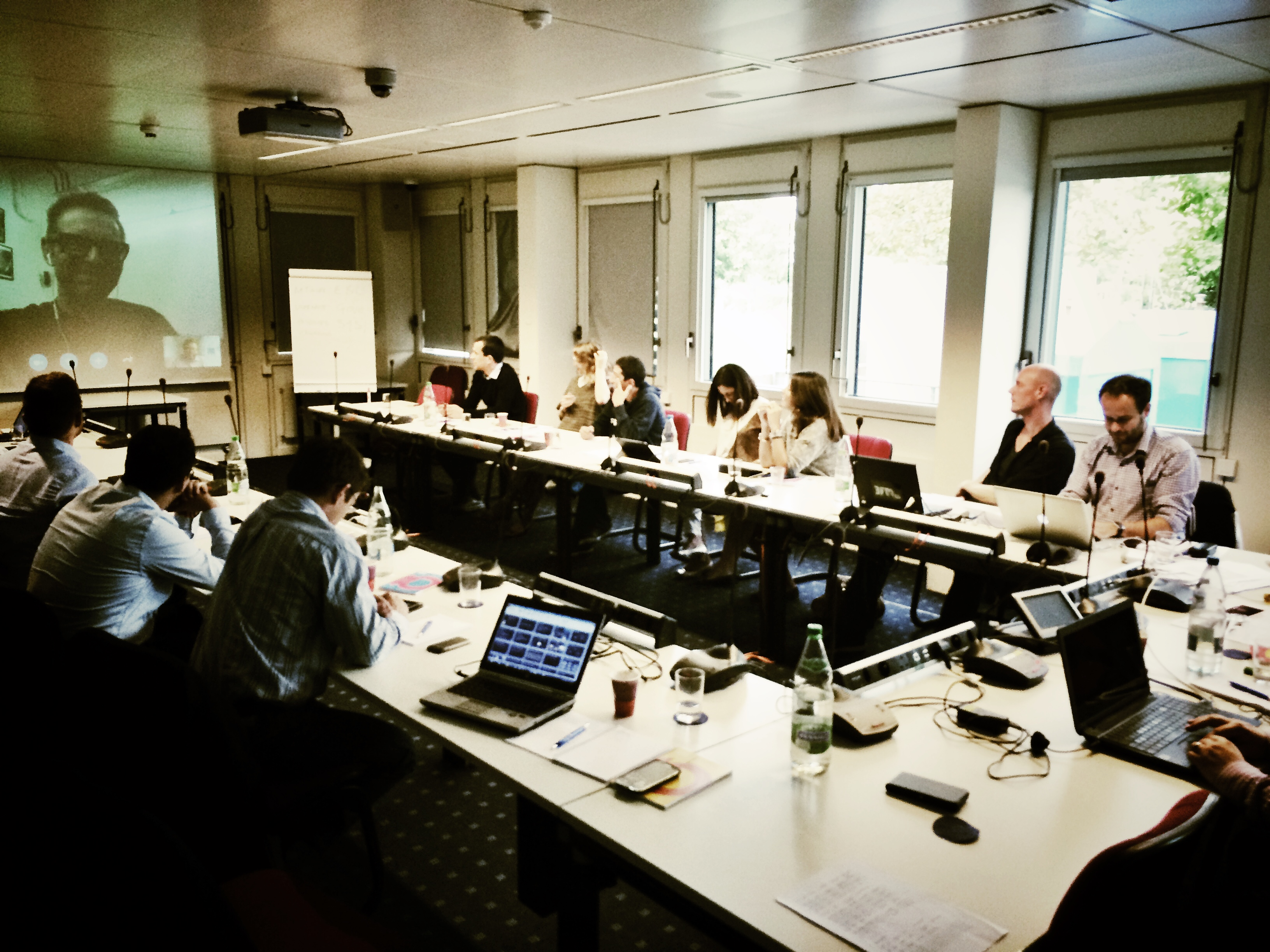"The ""Powerful News Websites Masterclass, Eurovision Academy, EBU, Geneva"