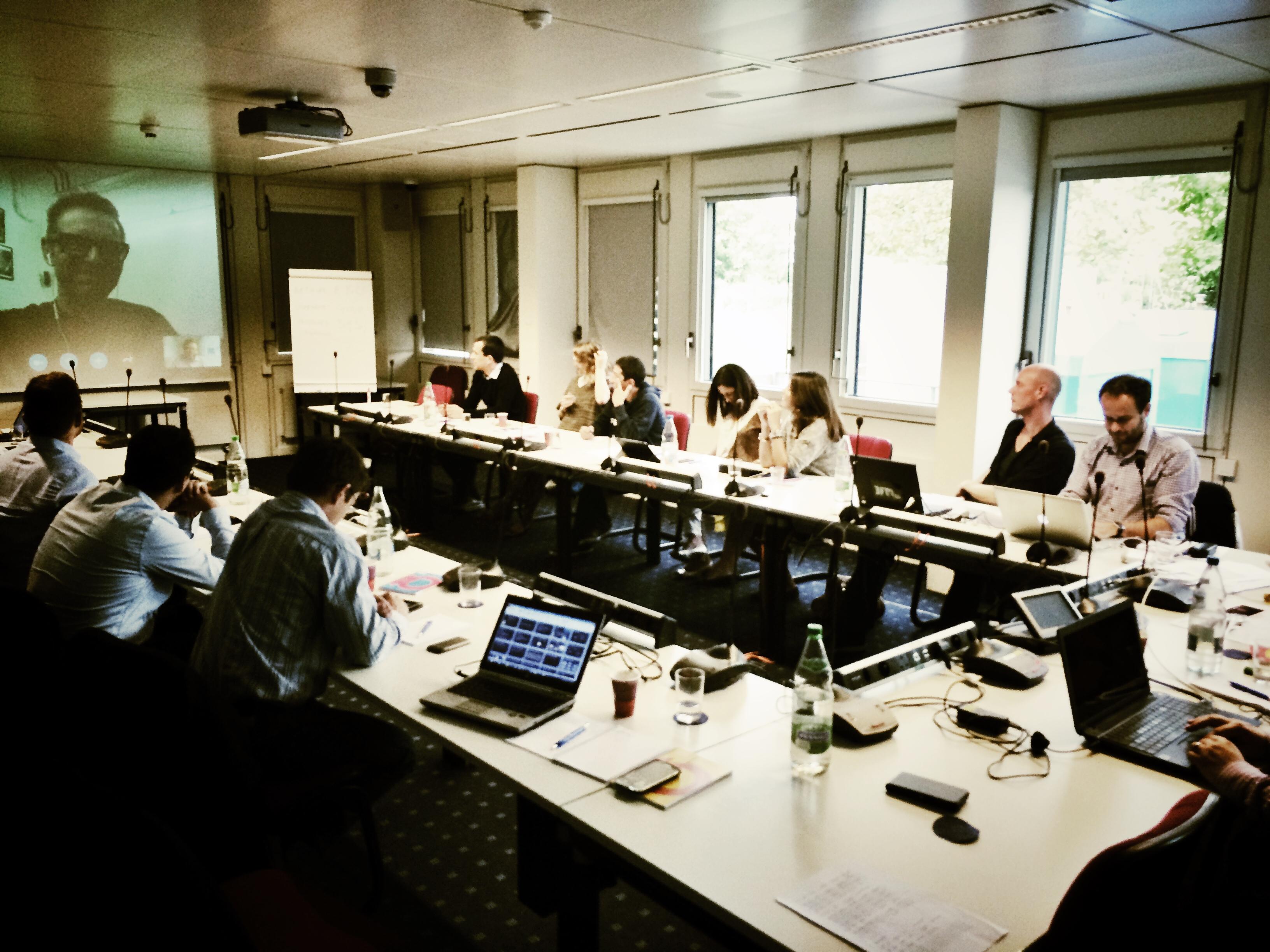 "The ""Powerful News Websites Masterclass, Eurovision Academy, EBU, Geneva"