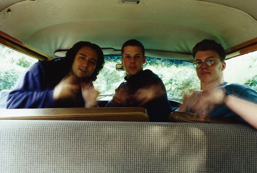 Blue Bone - the band - at Amberslone Cottage