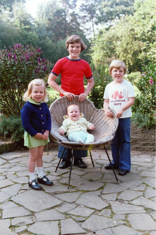 Amy Shearer, Ed Shearer, Matt Shearer and Russel Shearer in 1978