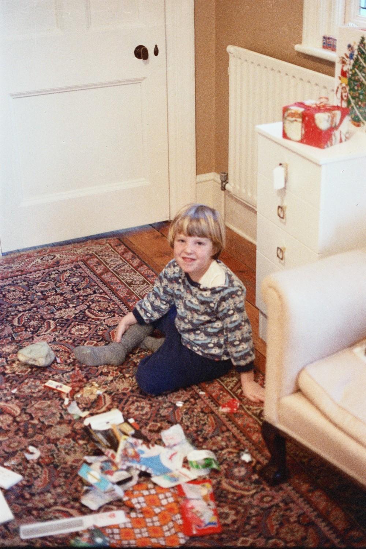 Matt Shearer at 5 years old