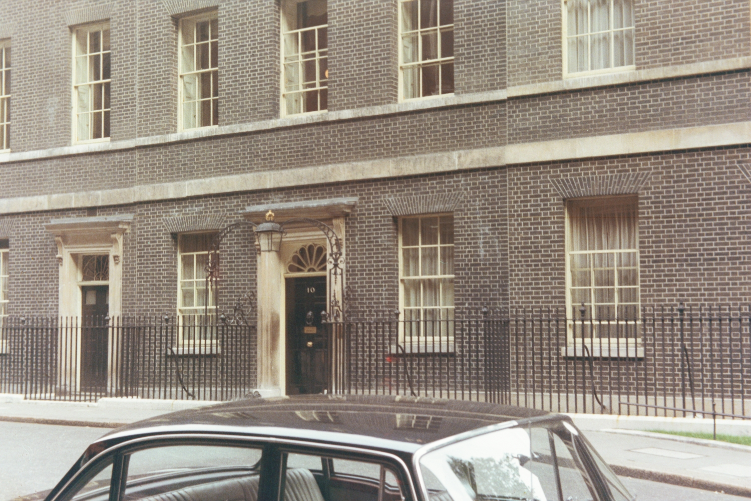 10 Downing Street, in summer 1973
