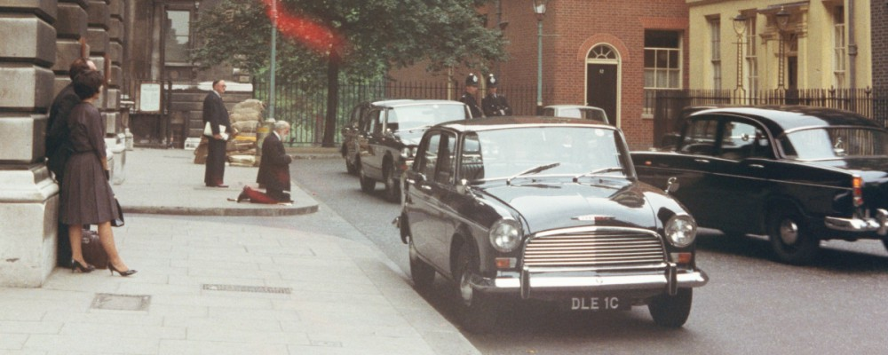 Downing Street, London, in 1973