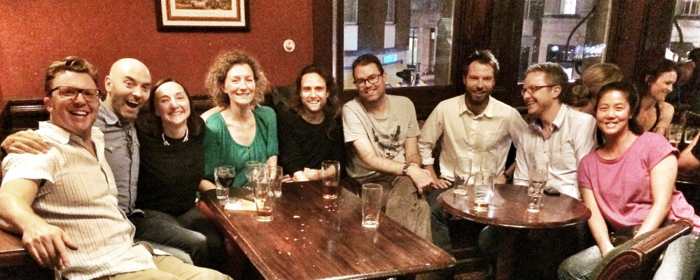 BBC Science & Nature Team - reunion some 10 years on