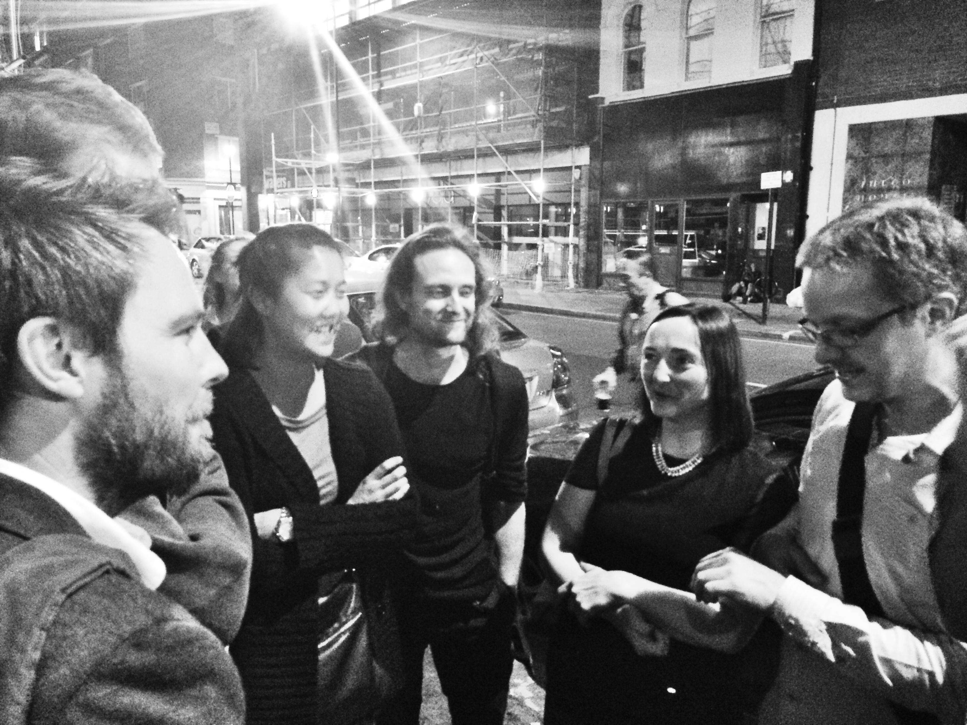 Rhys Pritchard, Candice Lo, Peter Harvey, Becky Palmer