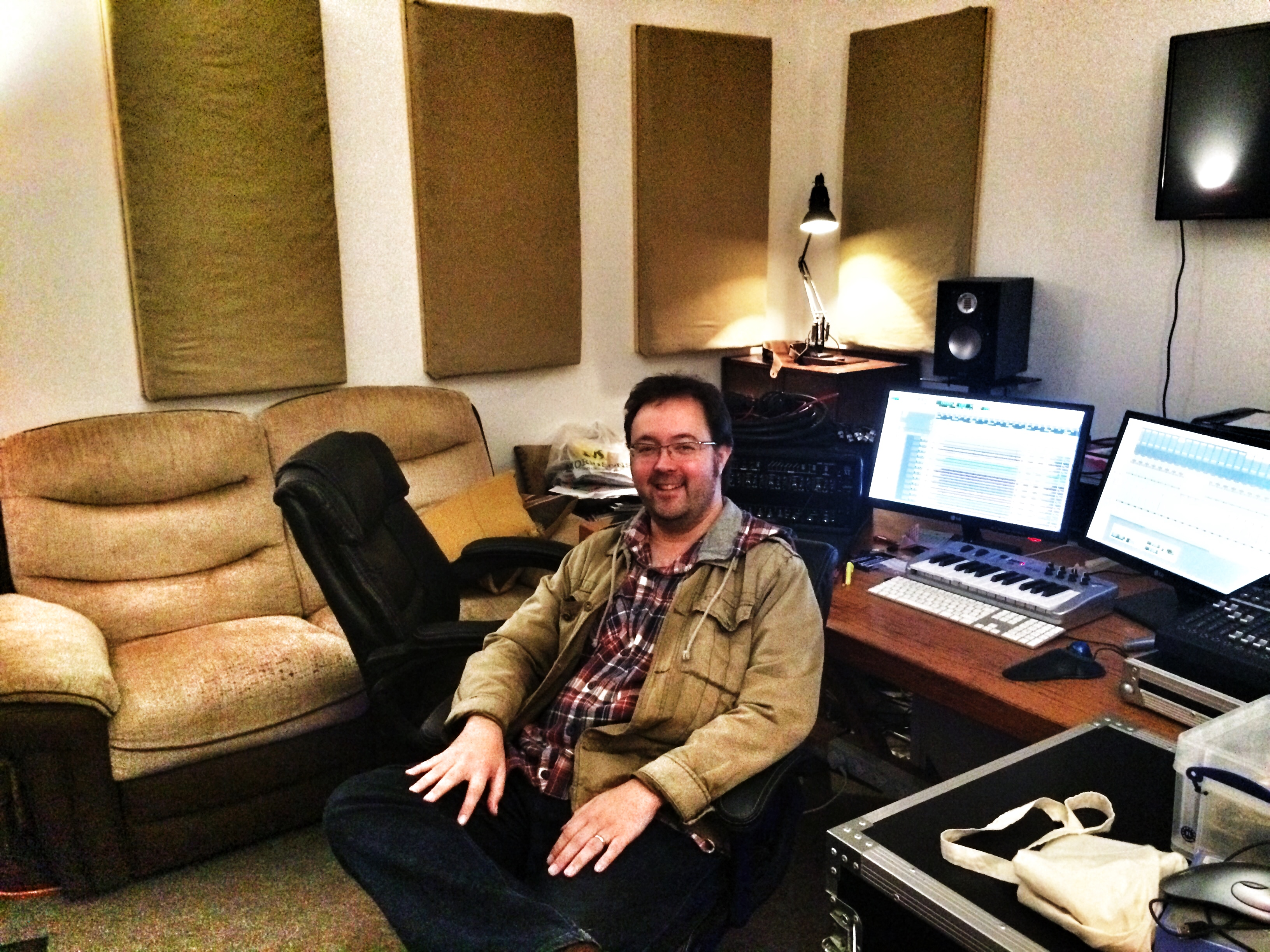 Niall Acott at NJA Audio Productions