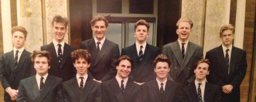 Laundimer House Upper Sixth Form 1991