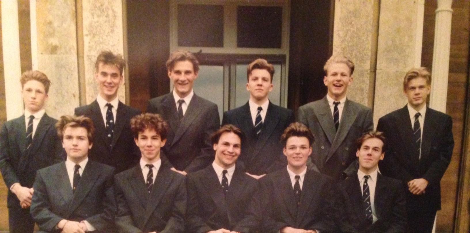 Laundimer House Upper Sixth Form 1991
