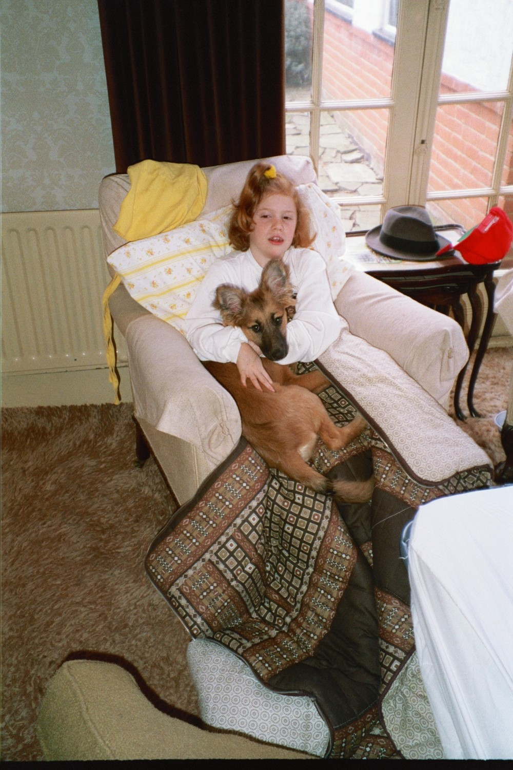 Virginia Shearer in Woodford in 1990