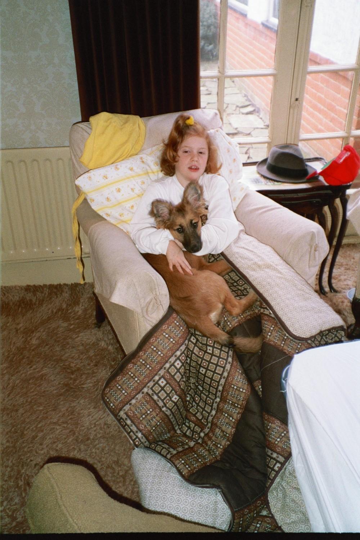 Virginia Shearer in Woodford in 1990
